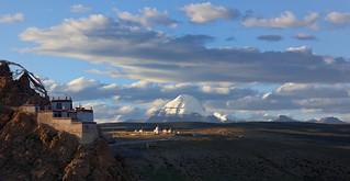 The Sparrow monastery and Gang Ti Se, Tibet 2017