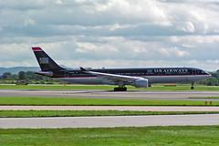 N677UW Airbus A.330-323X US Airways 15-08-04 (PlanecrazyUK) Tags: egcc manchester man ringway manchesterairport n677uw airbusa330323x usairways 150804