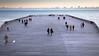 Hastings Pier (AEChown) Tags: pier hastingspier hastings seaside people sunset clouds movement