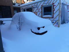 (navejo) Tags: montreal quebec canada snow grin evil car