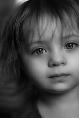 Niece (M Zappano) Tags: portrait black white blackandwhite family niece christmas canon 85mm