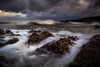 Throwing Caution (Augmented Reality Images (Getty Contributor)) Tags: longexposure leefilters coastline landscape storm scotland waves water colours clouds morayfirth canon findochty seascape rocks unitedkingdom gb