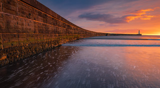 Seaham Harbour Wall
