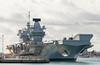 Queen Elizabeth 22nd September 2017 #5 (JDurston2009) Tags: hmsqueenelizabeth portsmouth portsmouthnavalbase queenelizabeth queenelizabethclass r08 aircraftcarrier hampshire warship royalnavy