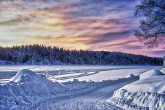 Umeälv 20180107 (johan.bergenstrahle) Tags: 2018 umeriver river umeälv älv vännäs winter vinter natur landscape landskap hdr finepics sweden sverige