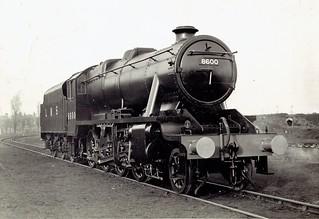 London, Midland & Scottish Railway (UK) - LMS Class 8F 2-8-0 steam locomotive Nr. 8600 (Eastleigh Works, 1942)