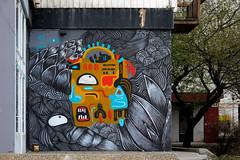 RE · Jana (Walls of Belgrade) Tags: belgrade beograd streetart serbia spraypaint wall graffiti mural re jana