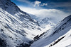 The Way up the Valley (Beppe Rijs) Tags: austria pitztal alps ski snow cloud summit mountain rock valley winter blue