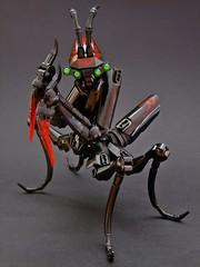 The Sanguimantid (Djokson) Tags: bug insect mantis creature monster demon blood red black djokson lego moc toy model