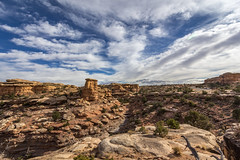 Slickrock Trail (Ninja Mom) Tags: canyonlands canyonlandsnationalpark canyonlandsnationalparkneedlesdistrict landscape hiking sliprocktrail utah