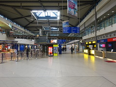 201711030 Leipzig/ Halle airport (taigatrommelchen) Tags: 20171145 germany schkeuditz building airport lej eddp