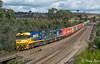 Mixed at Mathiesons (Henry's Railway Gallery) Tags: nr7 nrclass g526 gclass 8254 82class emd ge diesel goninan ugl clyde pacificnational pn 3mc2 mc2 mathiesonssiding kilmoreeast freighttrain containertrain intermodal
