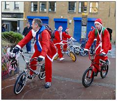 Starting Out (donbyatt) Tags: bikes santabikerun laekestreet waterloo costumes charity christmas