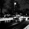 Pas grand monde dans la rue à cette heure-là... (woltarise) Tags: streetwise montroyalest avenue montréal 7ham parc neige
