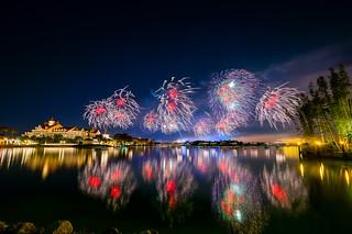 Magic Kingdom - Happy New Year's Eve 2017