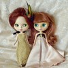 BaD Jan 2 - Gold (lyndell23) Tags: blythe blythedolls blytheaday photochallenge customisedblythedoll alpacareroot knittingforblythe adgaztecarrival