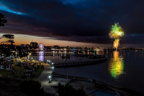 Geelong NYE Fireworks-5