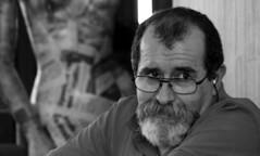 Joaquim Murale | A photo by Francisco da Emilinha | 2017 (António José Rocha) Tags: homem barba portugal joaquimmurale escritor português mono bw monocromática pretoebranco