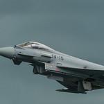 Eurofighter against a moody sky thumbnail