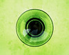 Abstract (Daniela 59) Tags: 7dwf crazytuesdaytheme greenblack abstract textures glass wineglass circle round danielaruppel