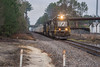 70's Rock (ajketh) Tags: ns norfolk southern emd sd70 2559 ge general electric d940cw freight train rock railroad columbia sc cloudy overcast evening charleston pacolet hopper load aggregate andrews yard