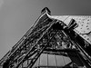 Paris (165 von 171).jpg (uweihe1) Tags: perspective structure steel eiffel monochrome steelstructure tourd'eiffel eiffeltower bw architecture architektur blackandwhite eiffelturm paris