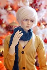 ☆ Christmas colors ☆ (Shimiro Kestrel) Tags: bjd doll christmas photography bjdphotography bjdportrait bjdcustom dollphotography bjdhybrid portrait cute kanadoll kanadolladrian spiritdoll spiritdollproud abjd