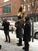 We Wish You a Merry Christmas including solos by right-handed tuba player (find the left one) (Flash of Perception*) Tags: christmas music concert tuba horn clarinet carols market stlawrence toronto gloves hand musicians