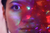 week twenty-two (Joanna Justyna) Tags: self portrait bokeh selfportrait eye lights merry merrychristmas christmas red 52 weeks project