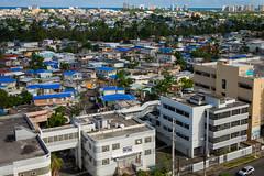 Blue tarps in Hato Rey (ep_jhu) Tags: bluetarps 7d hurricanemaria puertorico canon maria azul blue recovery damage fema condado sea sanjuan tarps pr hatorey