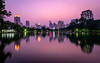 Pink sunset over Bangkok (_gate_) Tags: bangkok thailand lake lumphini park silomsathorn district cityscape night see boot boat swan varan animal sunset sun down sky cloud porn city urban photography gate tamron 1530mm vc nikon d750 pink color colour full asia south east december dezember 2017 travel holiday trip