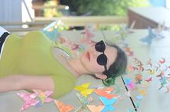 DSC_5295 (noahandrewsphotography) Tags: sarah butterfly origami wall spring 2017