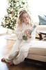 Ms C in her cozy fluffy pyjamas (Colleen Foucault Photography) Tags: fuzzypyjamas nutcracker photobycolleenrfoucaultphotography kamloopsbc christmas2017 xmas ipad