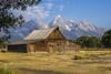 Moulton Barn, Grand Teton NP, USA (birgitmischewski) Tags: moultonbarn grandtetonnp mormonrow morning