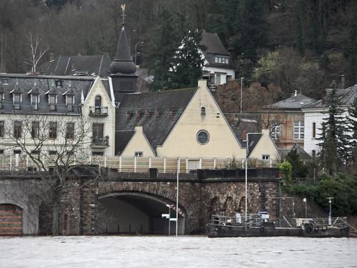 Hochwasser in Koblenz - Januar 2017