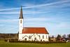 St. Agatha (joseph_donnelly) Tags: kirche church bayern bavaria germany pyramoos spire turm