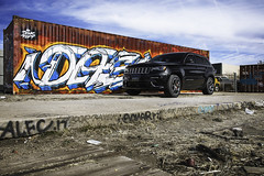 SRT Jeep (benburgertphotography) Tags: jeep srt srt8 american muscle car auto automotive picture hd photography ben burgert denver colorado graffiti urban city