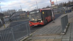 Once In a Blue Moon (NothingButLondon) Tags: london bus route 289 mmc red elmers end interchange arriva