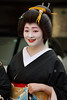 grace (byzanceblue) Tags: kyoto japan japanese gion woman lady female beautiful sexy nice smile black formal greeting d850 nikkor