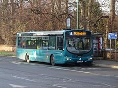 trent barton 613 QMC (Guy Arab UF) Tags: trent barton 613 fj03vwb scania l94ub wright solar bus qmc nottingham nottinghamshire wellglade buses wellgladegroup