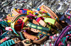 Bunte Souvenier-Armbänder aus Guatemala (marcoverch) Tags: guatemala typical colorful handmade bracelet country souvenier bunt souvenierarmbänder armbänder beads perlen souvenir speicher bright hell fashion mode craft kunst color farbe jewelry schmuck armband noperson keineperson sale verkauf artsandcrafts kunstundhandwerk motley market markt handgefertigt pattern muster traditional traditionell decoration dekoration bazaar basar flea floh kind nett walking spring schnee family canal fire deer field frost
