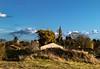 Clocher et moulin de Montbrun (jecrye8) Tags: montbrunlauragais france landscape paysage churchtower clocher mill moulin occitanie nikon