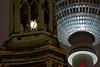 Detail - Marienkirche und Fernsehturm (M. Schirmer Berlin) Tags: deutschland germany berlin mitte marienkirche fernsehturm stern star alexanderplatz karlliebknechtstrase weihnachten chrismas xmas frieden peace