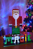 Xmas is a time for... (Stoff74) Tags: light painting xmas christmas noel navidad lego minecraft santa pere long exposure photography tree lights steve magie magic eastbourne east sussex england uk