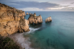 Alvor (Vitor Pina) Tags: seascape ocean waterscape landscape sea water beach rocks coast sky