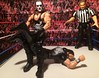 Sting Vs Rollins (JoeyDee83) Tags: wwe wwf wcw wrestling sting scorpion deathlock crow rollins raw sdlive ppv mattel toy action figure referee historic classic