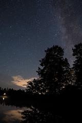 milky way (blaendwaerk) Tags: småland fujifilm xt2 schweden sweden sverige milchstrase milky way galaxie galaxy sterne stars wasser water see lake dark dunkel night nacht 16mm