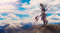 DreamscaperX as Miqo'te Dragoon from Final Fantasy XIV (SpirosK photography) Tags: dreamscaperxcosplay miqote dragoon finalfantasyxiv finalfantasyseries finalfantasy ffxiv ff14 finalfantasy14 photshot composite