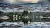 Beacons reservoir (technodean2000) Tags: beacons reservoir brecon snow nikon d810 lightroom uk long exposure forest tree mountain landscape