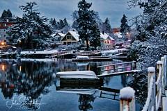Merry Christmas, Nadolig Llawen, Feliz Navidad, Joyeux Noel (johnscratchley) Tags: landscape winterscene christmas hdr victoriabc